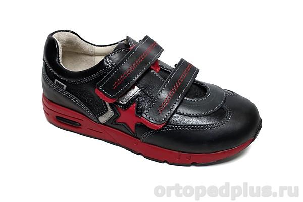 Ортопедическая обувь Кроссовки 096-115 черный/красный