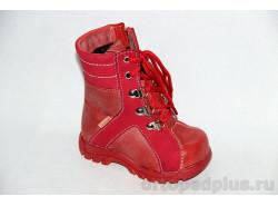 Сапоги 12-611-3_10 красный