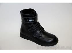 Ботинки 160206 черный