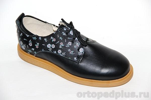 Ортопедическая обувь Туфли 24001 ЭТНИКА черный
