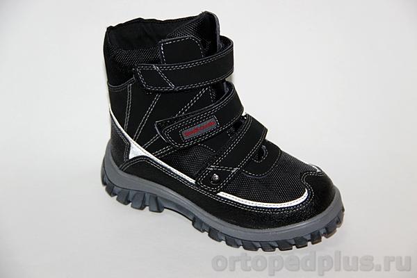 Ортопедическая обувь Ботинки 43-070 черный