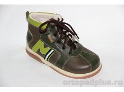 """Ботинки """"Регби"""" зеленый"""