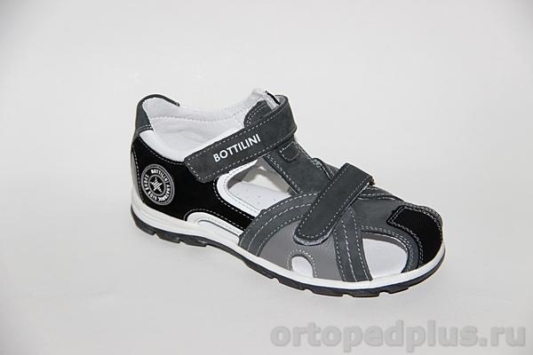 Ортопедическая обувь Сандалии SO-138-6 серый