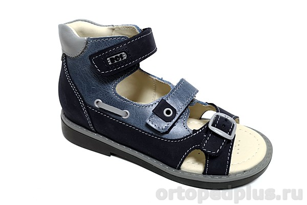 Ортопедическая обувь Сандалии 054-711 синий
