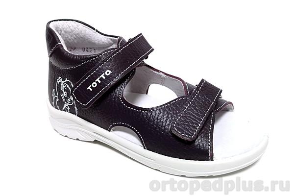 Ортопедическая обувь Сандалии 1144 баклажан