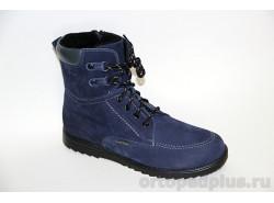 Ботинки 160201 т.синий