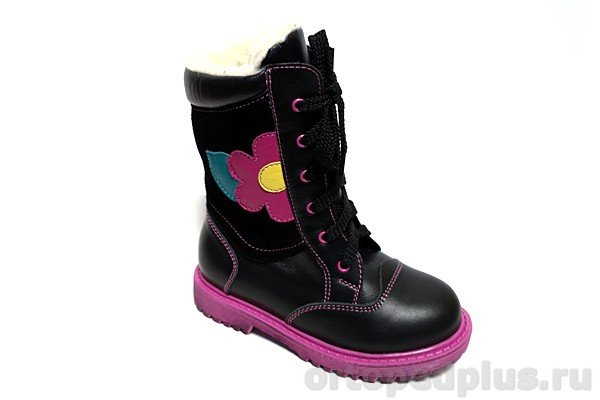 Ортопедическая обувь Ботинки 182-13 черный