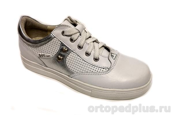 Ортопедическая обувь Кроссовки 199-01 белый/серый