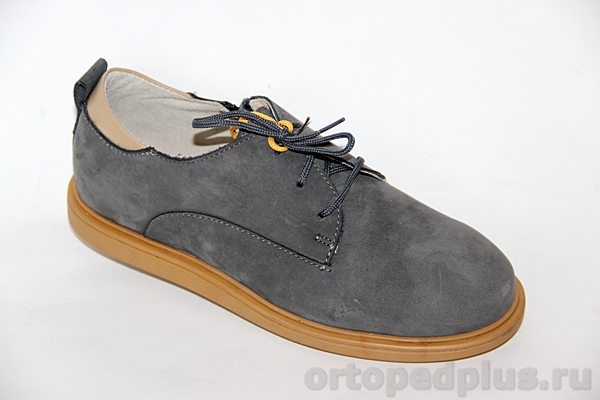 Ортопедическая обувь Туфли 24001 ТВИСТ серый