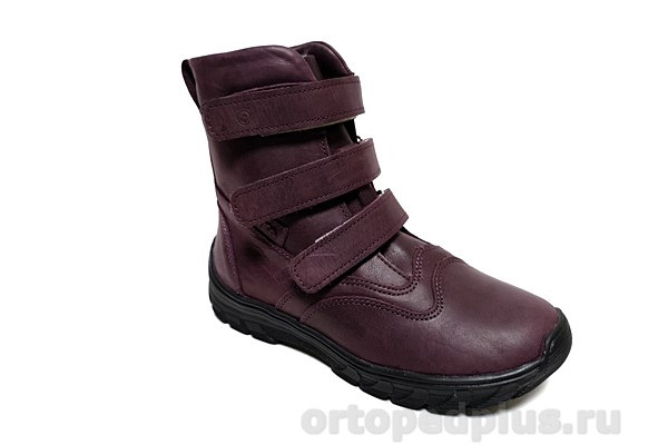 Ортопедическая обувь Ботинки М312 фиолетовый