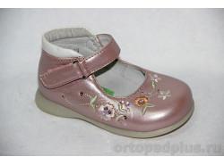 Туфли 70860 роз/перл/бел