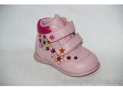 Ботинки 72926 роз/фукс