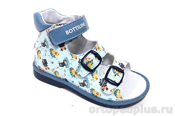 Ортопедическая обувь Сандалии SO-100-11 голубой