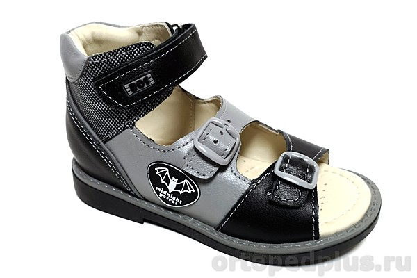 Ортопедическая обувь Сандалии 058-01 серый