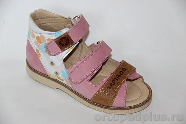 Ортопедическая обувь Сандалии 26006 ГЛАЗУРЬ розовый