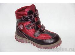 Ботинки 43-045 бордовый