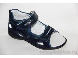 Сандалии 4300-14-6А т.синий