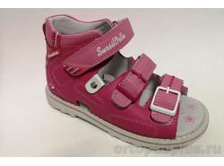Ботинки 55-178 розовый/белый