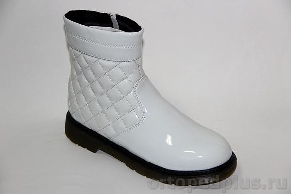 Ортопедическая обувь Ботинки 72003 белый