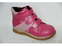 Ботинки 73287 т.роз/роз