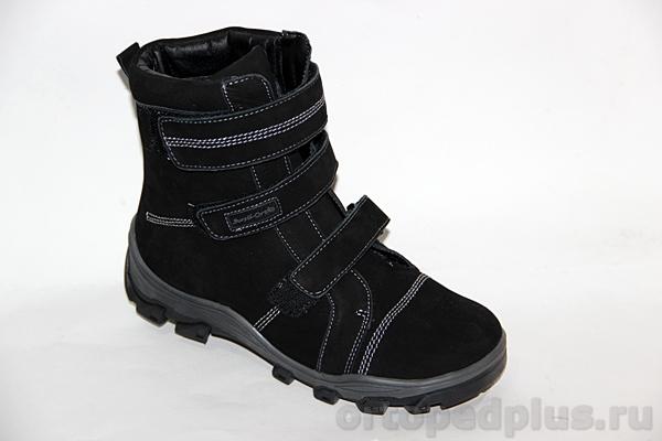 Ортопедическая обувь Ботинки А43-063 черный