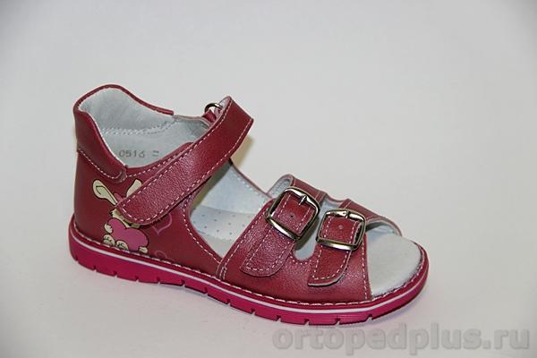 Ортопедическая обувь Сандалии17 розовый
