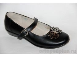 Туфли школьные 211132 черный