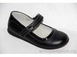 Туфли 4102 черный/черный лак