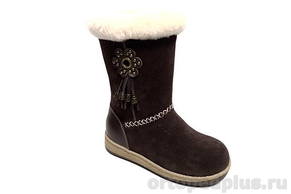 Ортопедическая обувь Сапоги 44-085-1 коричневый