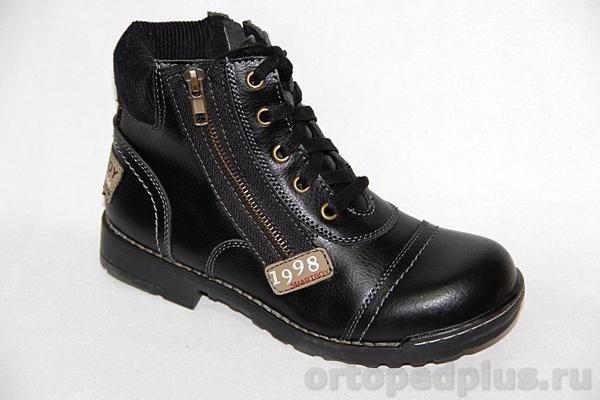 Ортопедическая обувь Ботинки 55-114 черный