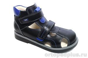 Сандалии 111-112 черный/синий