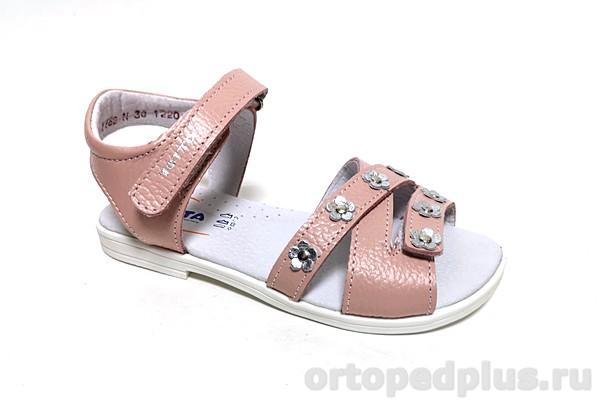 Ортопедическая обувь Сандалии 1162/2 пудра