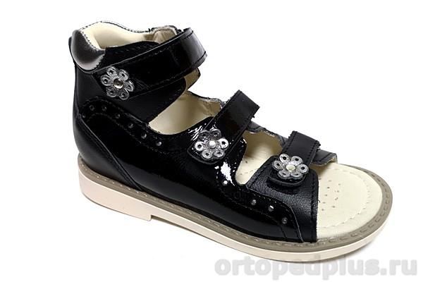 Ортопедическая обувь Сандалии 161-11 черный