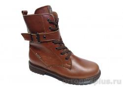 Ботинки 184-53 коричневый