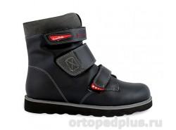 Ботинки 23-222-1 черн/крас