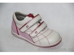 Кроссовки 5004 белый/розовый