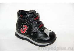 Ботинки 72376 черн/крас