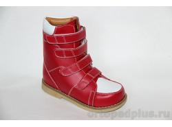 Ботинки ОТ-403/R красный/белый