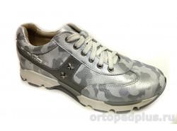 Кроссовки 094-018 серый
