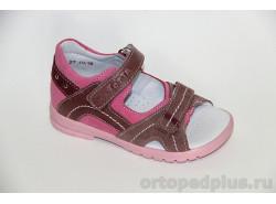 Сандалии 10215 розовый/ирис