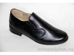 Туфли школьные 211141черный