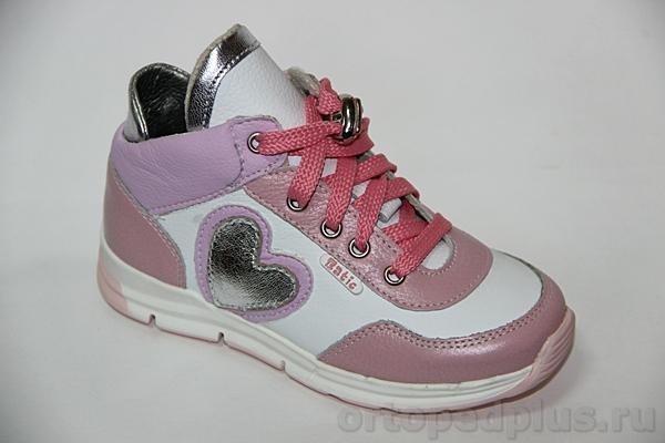 Ортопедическая обувь Кроссовки 22173 малиновый/белый