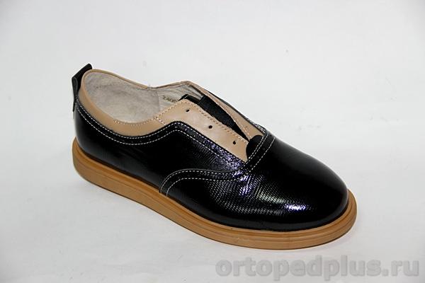Ортопедическая обувь Туфли 24007 ТВИСТ черный