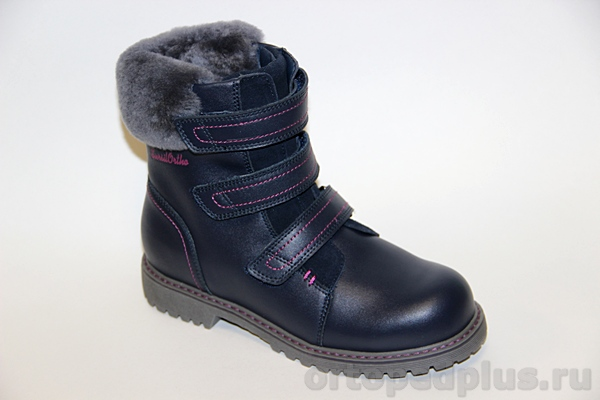Ортопедическая обувь Ботинки 45-062 синий