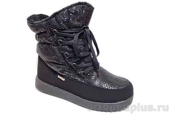 Ортопедическая обувь Ботинки 45-158 черный