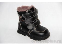 Ботинки 65095 черн.