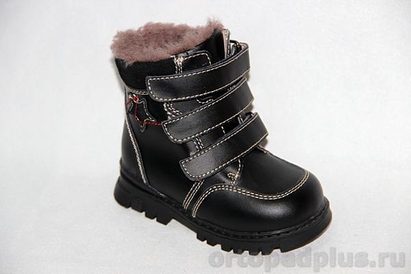 Ортопедическая обувь Ботинки 65095 черн.