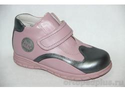 П.ботинки 72390 роз/сер