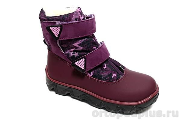 Ортопедическая обувь Ботинки BL-240-10 бордовый
