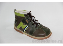 """Ботинки утепленные """"Регби"""" зеленый"""